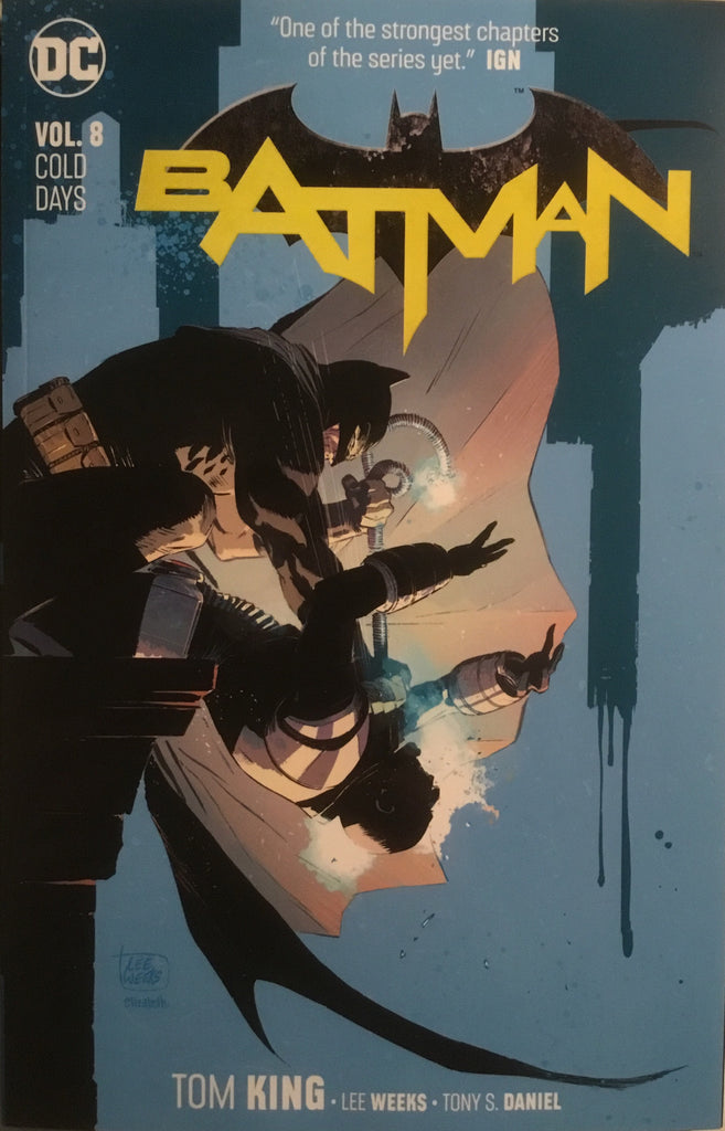 BATMAN (REBIRTH) VOL 8 COLD DAYS GRAPHIC NOVEL