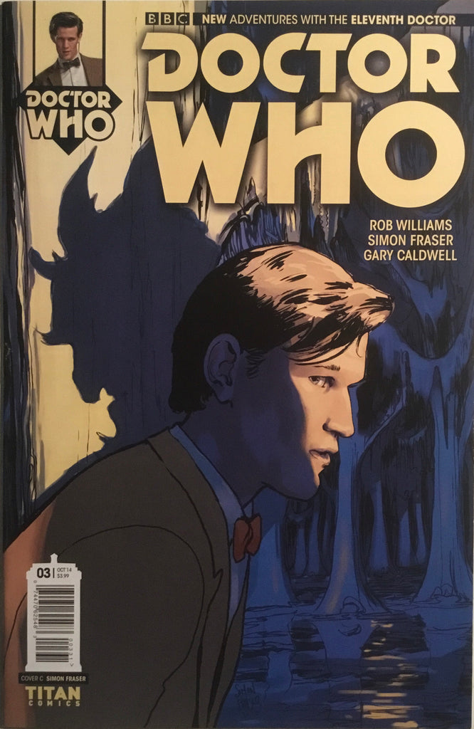 DOCTOR WHO THE 11TH DOCTOR # 3 (1:10 VARIANT)
