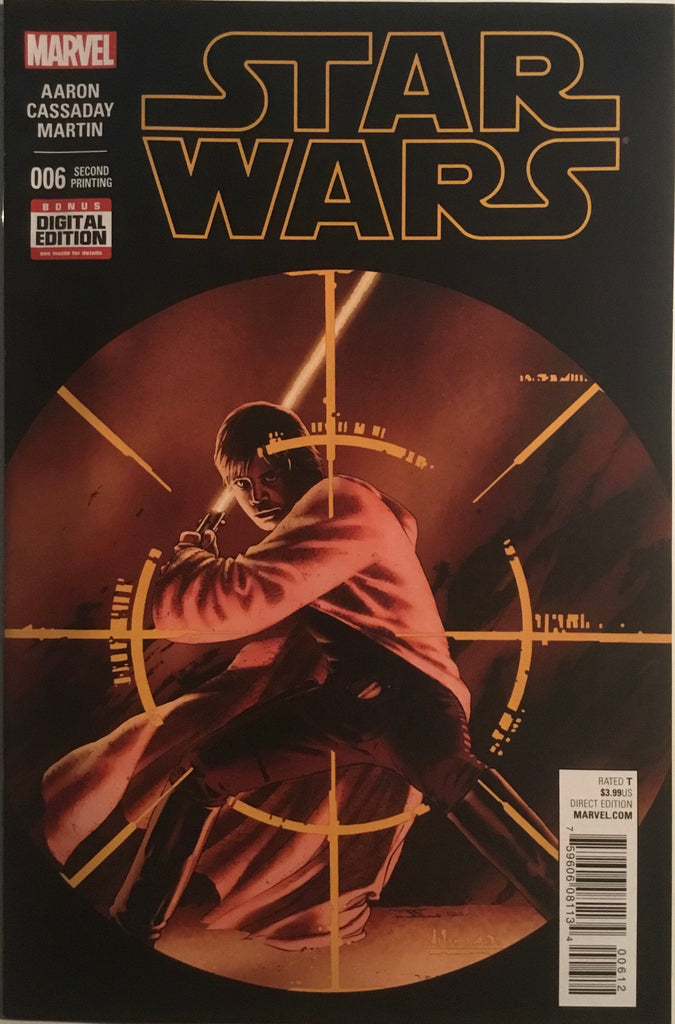 STAR WARS (2015-2020) # 6 SECOND PRINTING