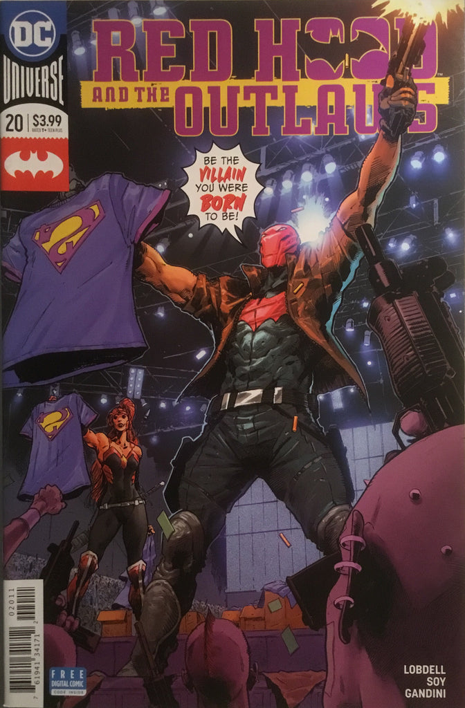 RED HOOD AND THE OUTLAWS (REBIRTH) # 20