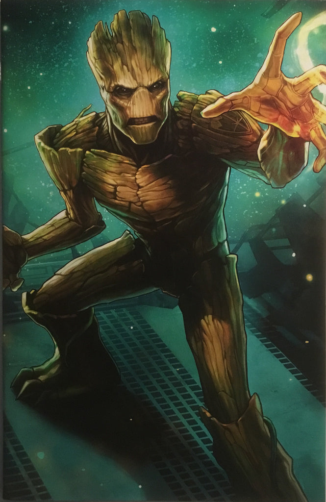 SENTRY # 5 GROOT BATTLE LINES VARIANT COVER