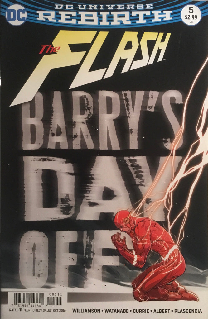 FLASH (REBIRTH) # 05
