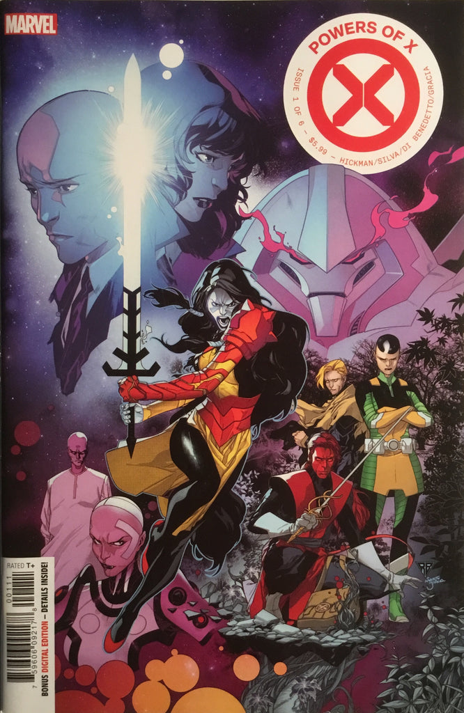 POWERS OF X # 1 FIRST PRINTING