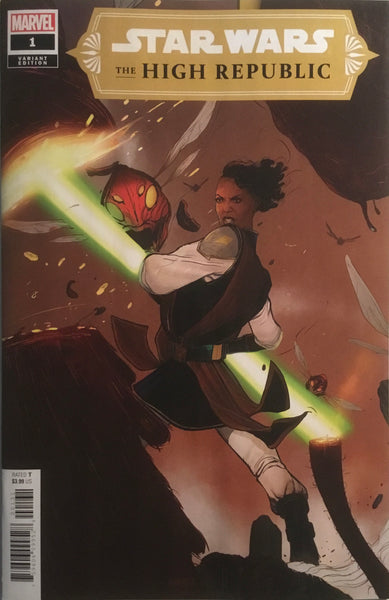 STAR WARS THE HIGH REPUBLIC # 1 SWAY 1:25 VARIANT COVER FIRST APPEARANCE OF MULTIPLE NEW CHARACTERS