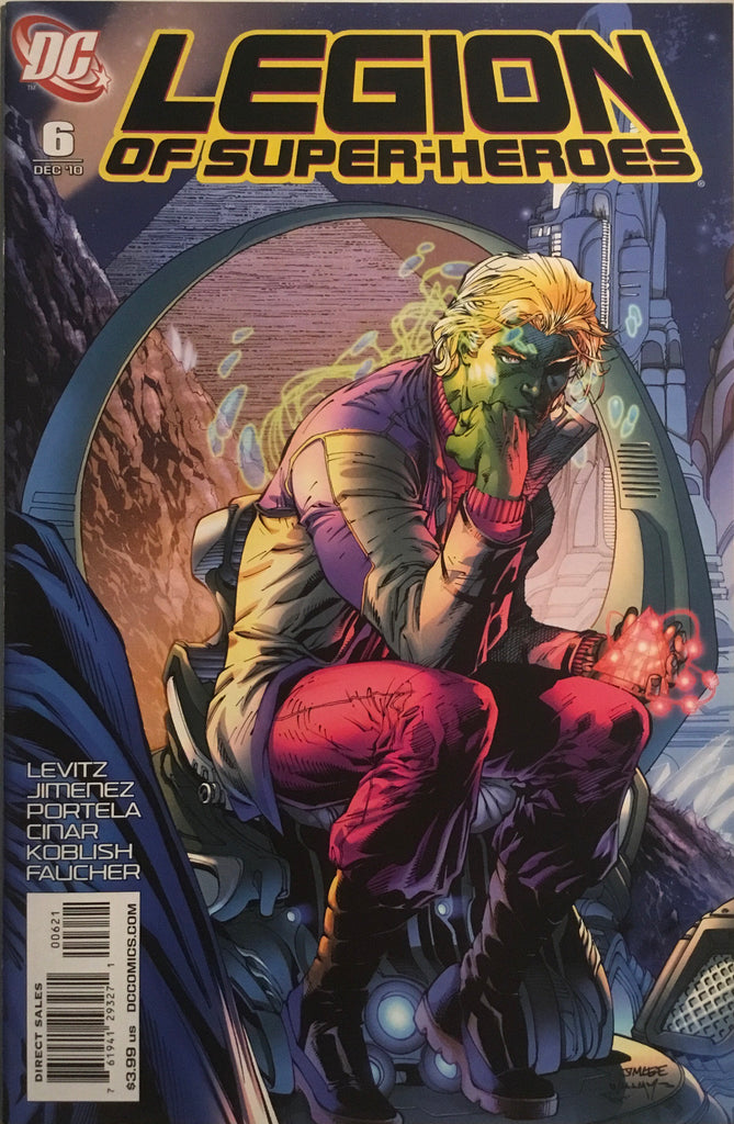 LEGION OF SUPER-HEROES (2010-2011) # 6 JIM LEE 1:10 VARIANT COVER