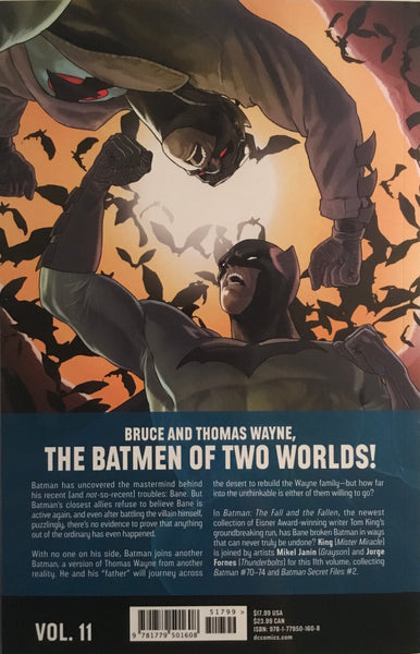BATMAN (REBIRTH) VOL 11 THE FALL AND THE FALLEN GRAPHIC NOVEL