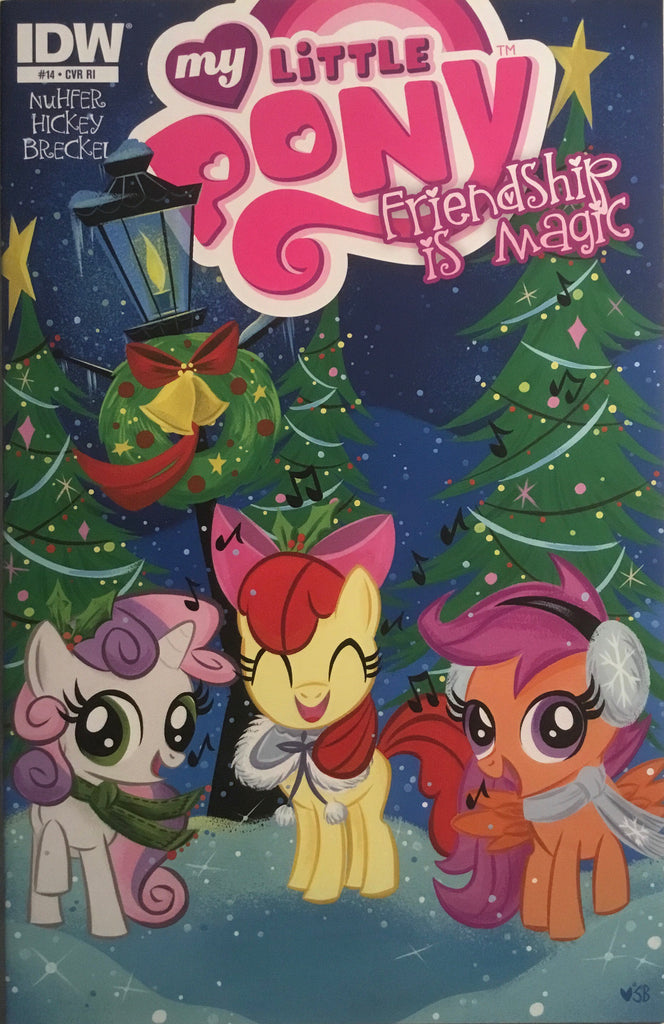 MY LITTLE PONY FRIENDSHIP IS MAGIC #14 RETAILER INCENTIVE 1:10 VARIANT COVER