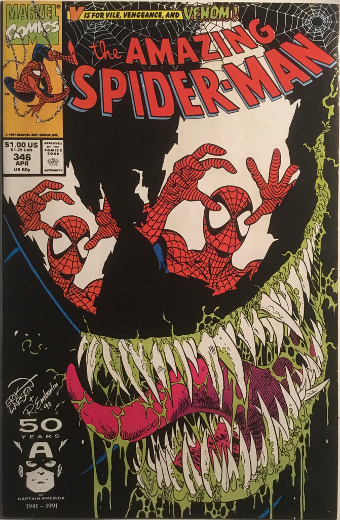 AMAZING SPIDER-MAN (1963-1998) # 346