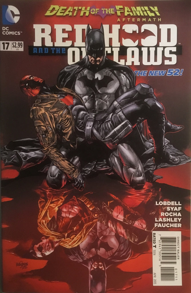 RED HOOD AND THE OUTLAWS (THE NEW 52) # 17