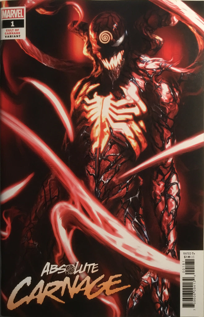 ABSOLUTE CARNAGE # 1 DELL'OTTO 1:25 VARIANT COVER
