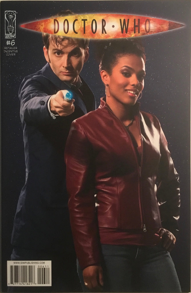 DOCTOR WHO # 6 PHOTO COVER (1:10 VARIANT)