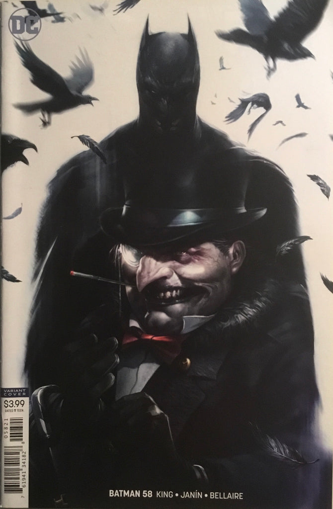 BATMAN (REBIRTH) # 58 VARIANT COVER