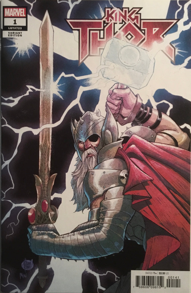 KING THOR # 1 KUBERT 1:50 VARIANT COVER