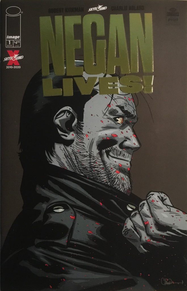 NEGAN LIVES! # 1 GOLD FOIL LIMITED EDITION VARIANT COVER