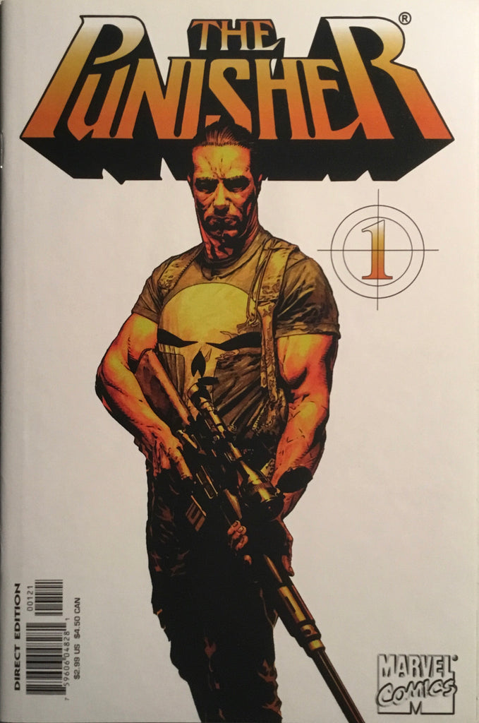 PUNISHER (2000-2001) # 1 VARIANT WHITE COVER