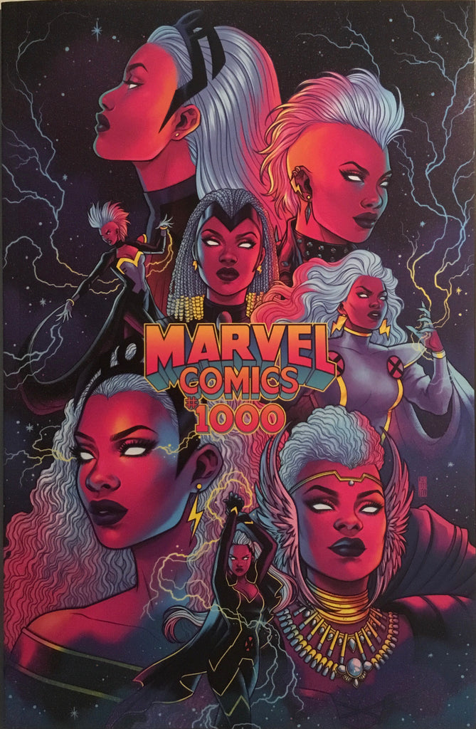 MARVEL COMICS # 1000 BARTEL 1:50 VARIANT COVER