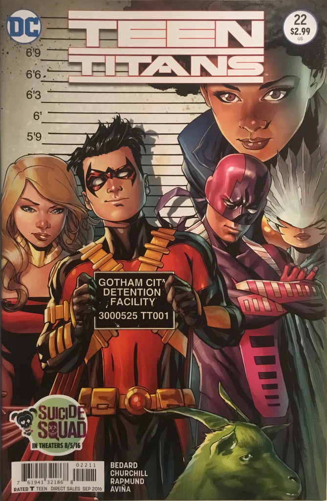 TEEN TITANS (NEW 52 SERIES 2) #22