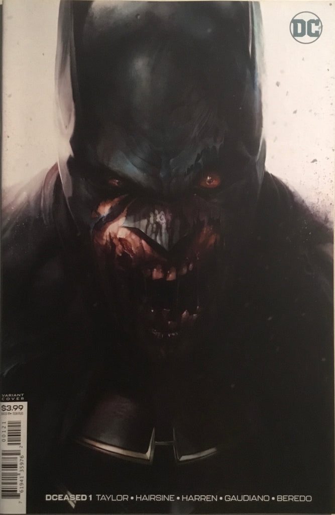 DCEASED # 1 MATTINA COVER