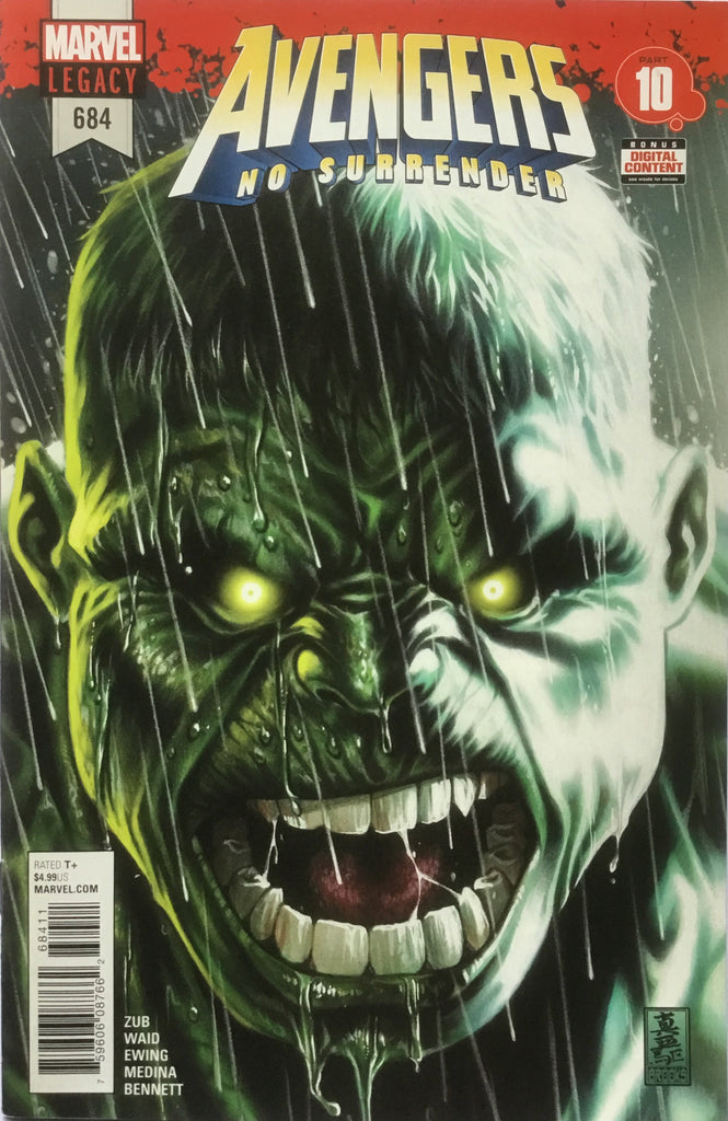AVENGERS (2017-2018) # 684 FIRST APPEARANCE IMMORTAL HULK