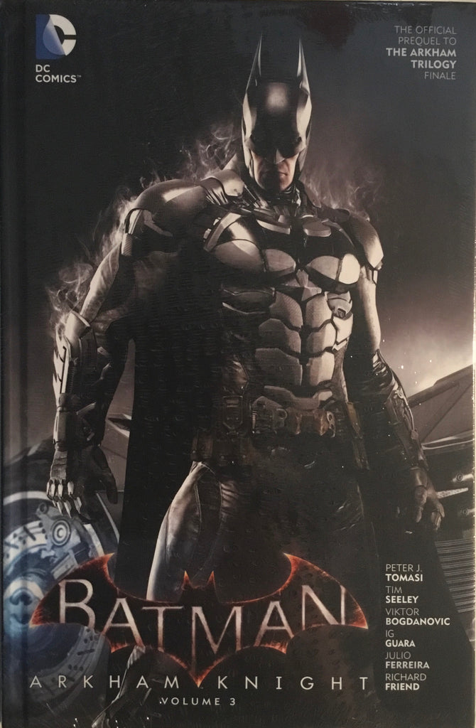BATMAN ARKHAM KNIGHT VOL 3 HARDCOVER GRAPHIC NOVEL