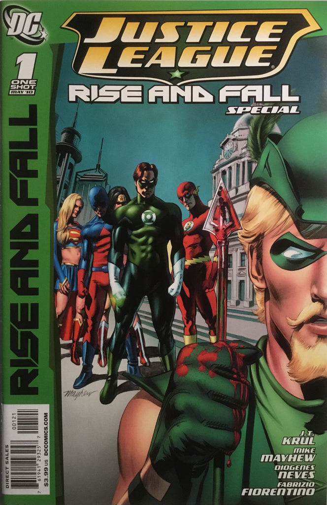 JUSTICE LEAGUE RISE AND FALL SPECIAL MAYHEW 1:25 VARIANT COVER