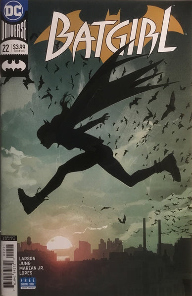 BATGIRL (REBIRTH) # 22 MIDDLETON VARIANT COVER