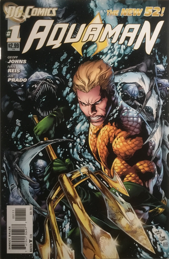 AQUAMAN (NEW 52) # 01 FIRST PRINTING