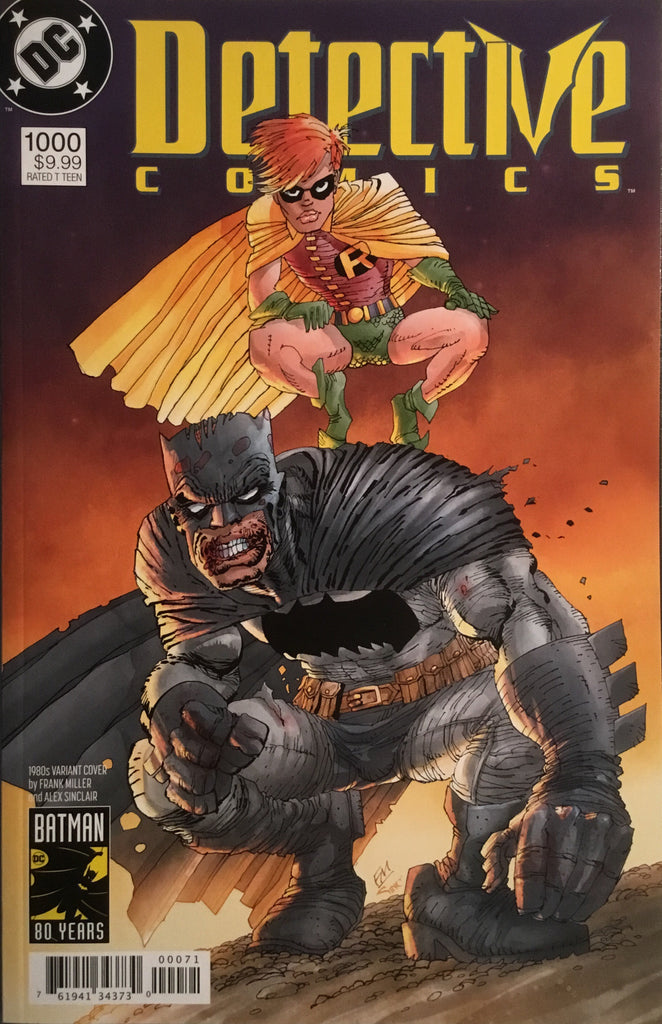 DETECTIVE COMICS #1000 MILLER 1980'S VARIANT COVER