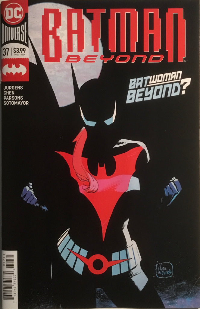 BATMAN BEYOND (2016) # 37 FIRST FULL APPEARANCE OF BATWOMAN BEYOND