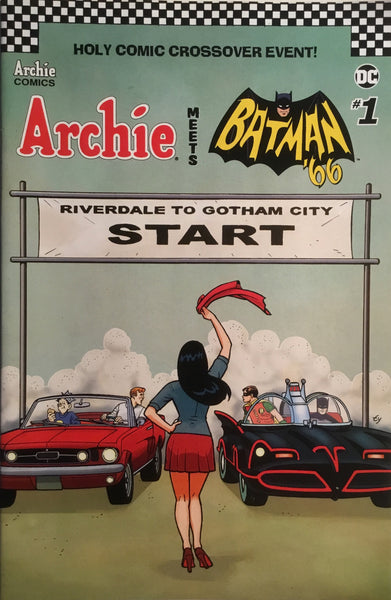 ARCHIE MEETS BATMAN '66 #1 TEMPLETON COVER