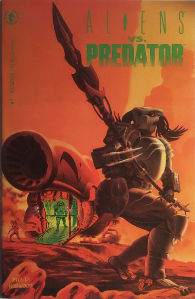 ALIENS VS PREDATOR # 0 - 4