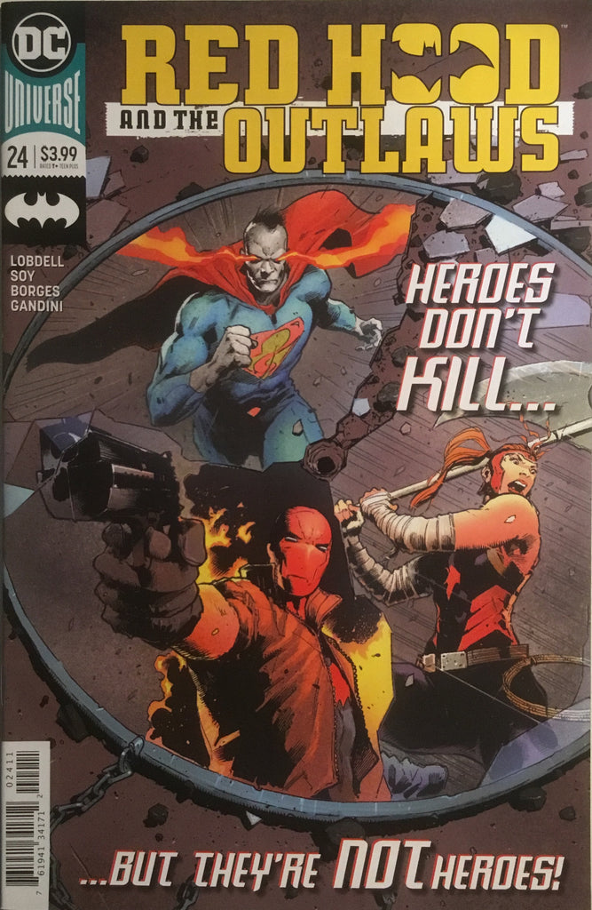 RED HOOD AND THE OUTLAWS (REBIRTH) # 24