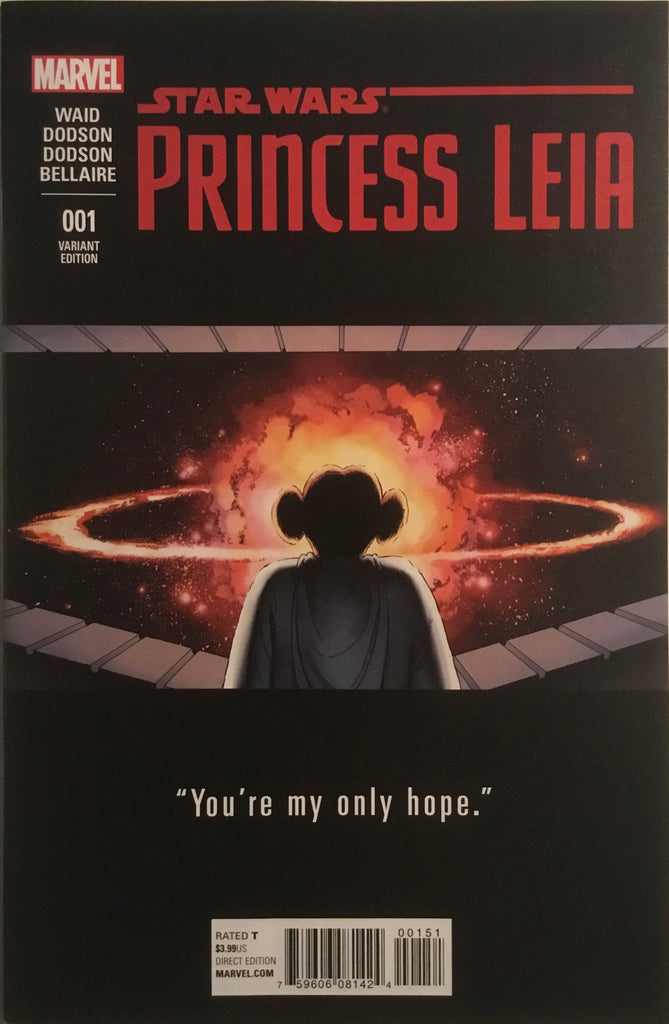 STAR WARS PRINCESS LEIA # 1 CASSADAY TEASER 1:25 VARIANT COVER