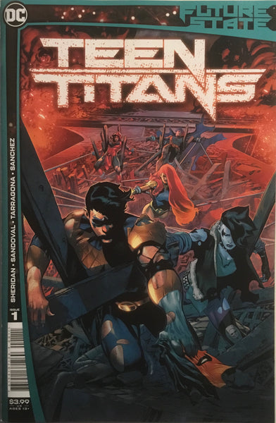 FUTURE STATE TEEN TITANS #1 FIRST PRINTING