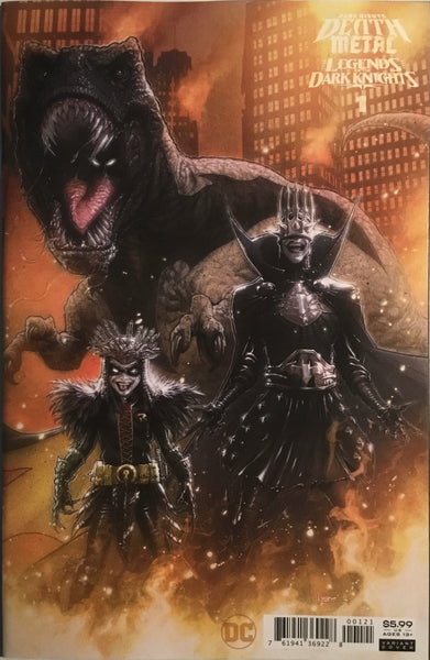 DARK NIGHTS DEATH METAL LEGENDS OF THE DARK KNIGHTS # 1 ANDREWS 1:25 VARIANT COVER