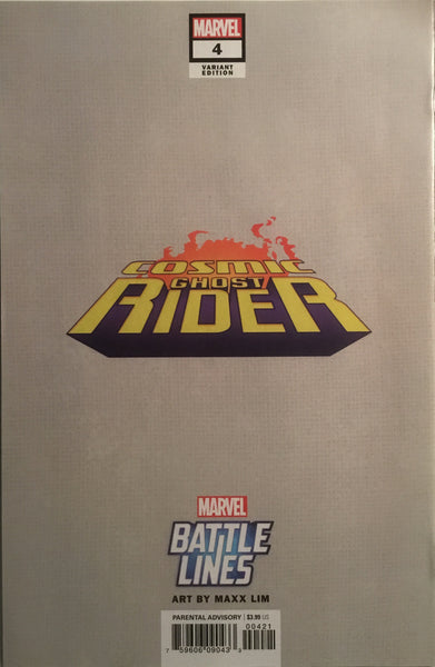 COSMIC GHOST RIDER # 4 BATTLE LINES VARIANT COVER