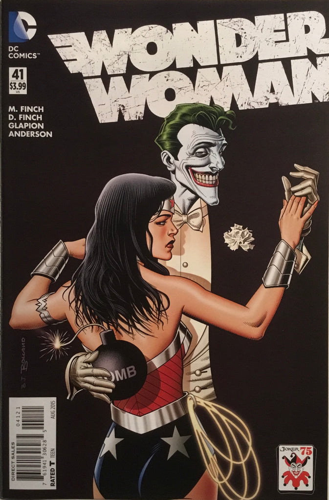 WONDER WOMAN (NEW 52) #41 JOKER VARIANT COVER