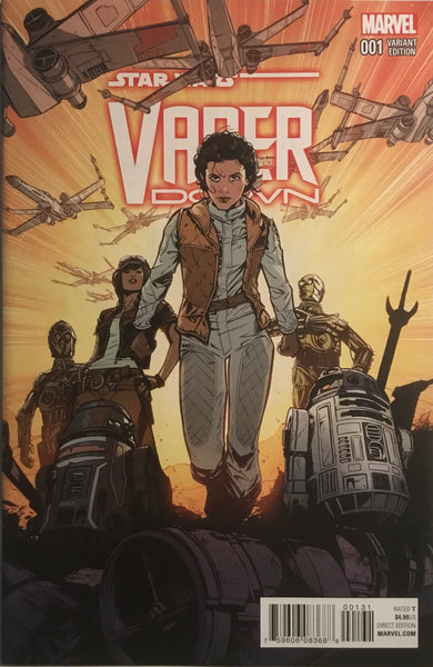 STAR WARS VADER DOWN # 1 JONES 1:25 VARIANT COVER