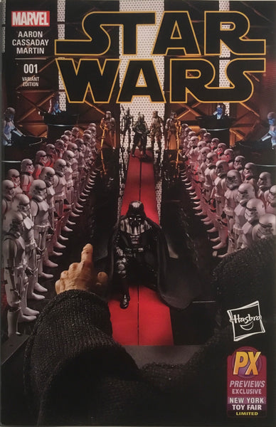 STAR WARS (2015-2020) # 1 HASBRO NEW YORK TOY FAIR VARIANT COVER
