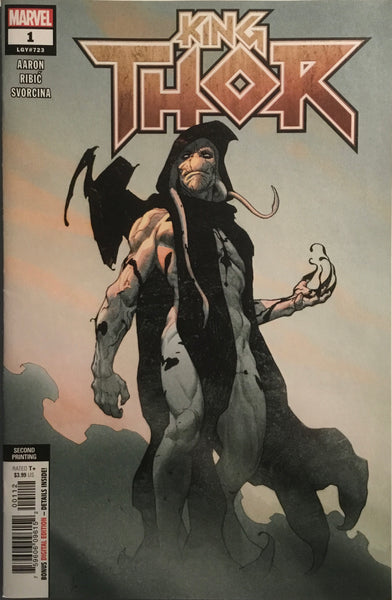 KING THOR # 1 (SECOND PRINTING) GORR THE GOD BUTCHER COVER