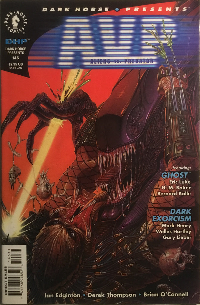 DARK HORSE PRESENTS # 146 ALIENS VS PREDATOR