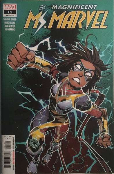 MAGNIFICENT MS MARVEL #11 FIRST FULL APPEARANCE OF STORMRANGER