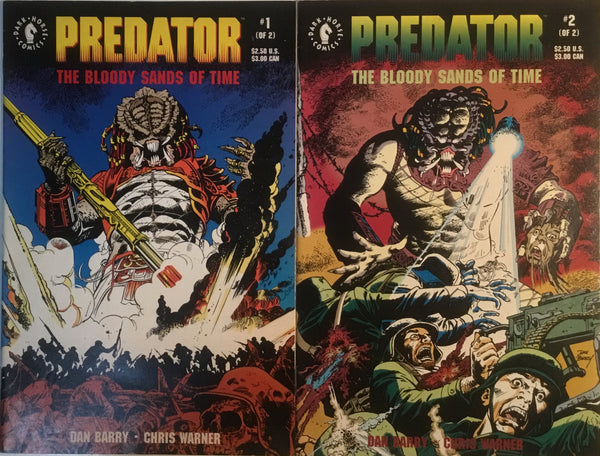 PREDATOR : THE BLOODY SANDS OF TIME # 1 & 2