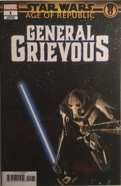 STAR WARS AGE OF REPUBLIC GENERAL GRIEVOUS # 1 MOVIE PHOTO 1:10 VARIANT COVER