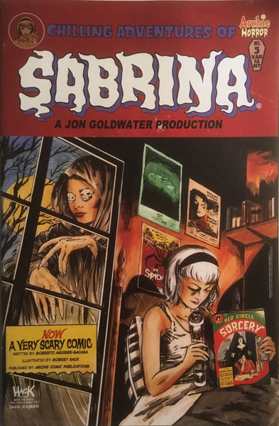 CHILLING ADVENTURES OF SABRINA # 5 (COVER B)