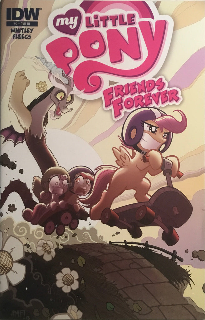 MY LITTLE PONY FRIENDS FOREVER # 2 RETAILER INCENTIVE 1:10 VARIANT COVER
