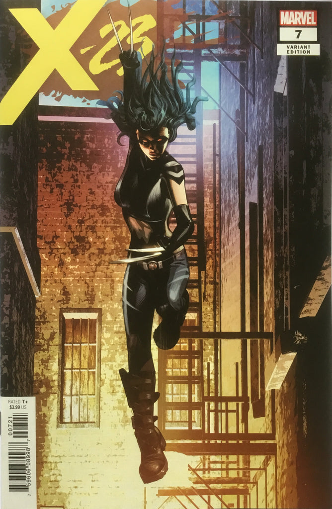 X-23 (2018) # 7 FIRST APPEARANCE X-ASSASSIN DEODATO VARIANT COVER