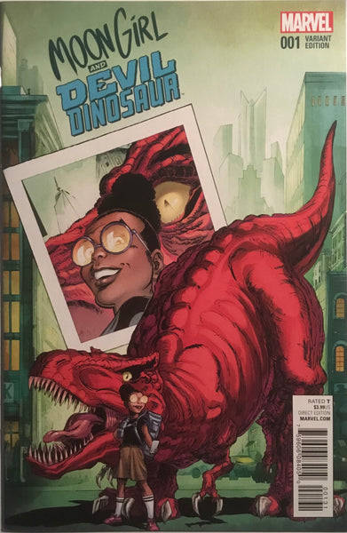 MOON GIRL AND DEVIL DINOSAUR # 1 VON EEDEN 1:25 VARIANT COVER