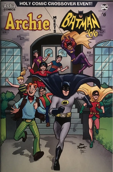 ARCHIE MEETS BATMAN '66 #6 PARENT COVER