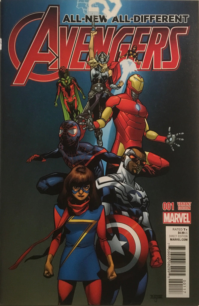 ALL-NEW ALL-DIFFERENT AVENGERS (2016) # 1 ASRAR 1:25 VARIANT COVER